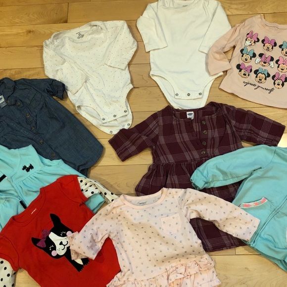 Helpful 12 To 18 Months Girls Bundle 10 Items Baby Girls' Clothing (0-24 Months)